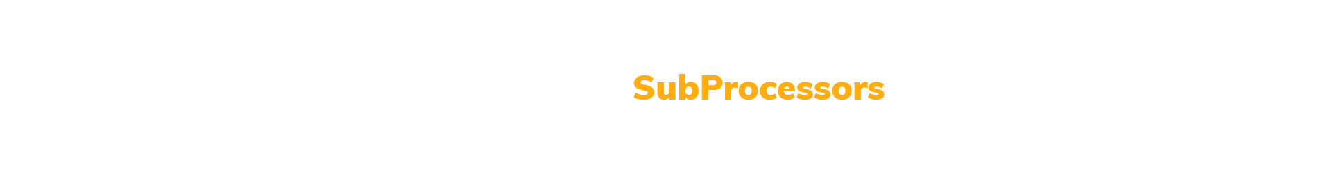 My-Digital-SubProcessors